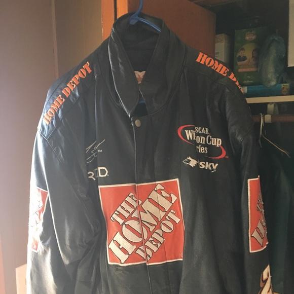 1d105044 Jeff Hamilton Jackets & Coats   Tony Stewart Leather Jacket   Poshmark